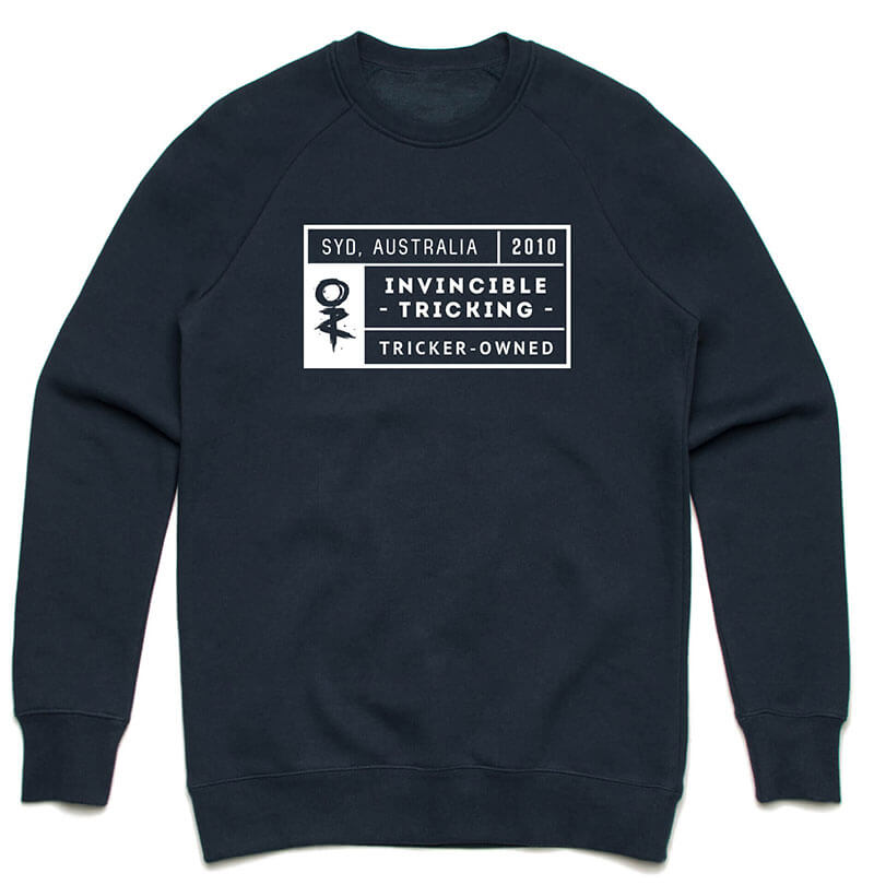 Invincible Tricking Grid Pullover