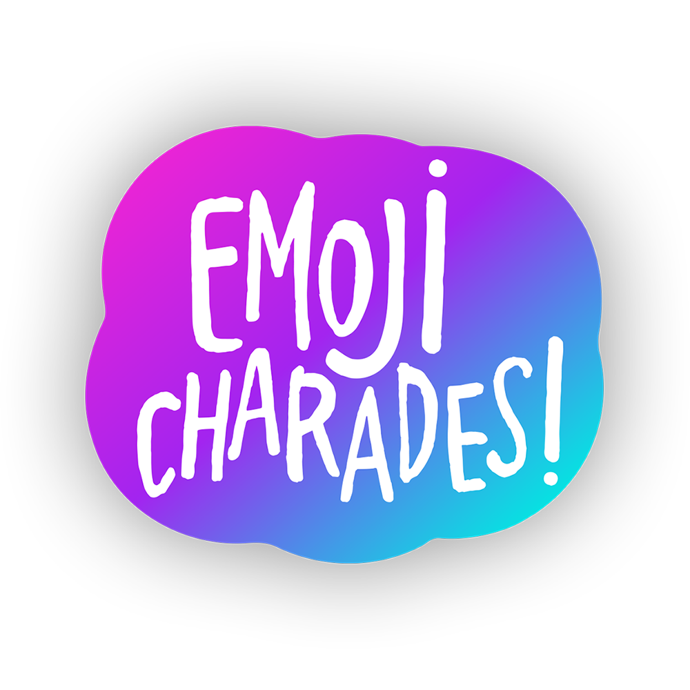 Emoji Charades - A trivia party game for your TV.