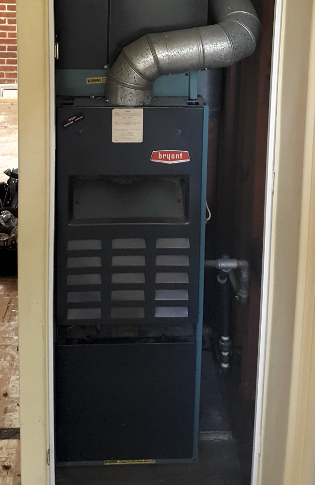 Furnace in Denver that needed replacing