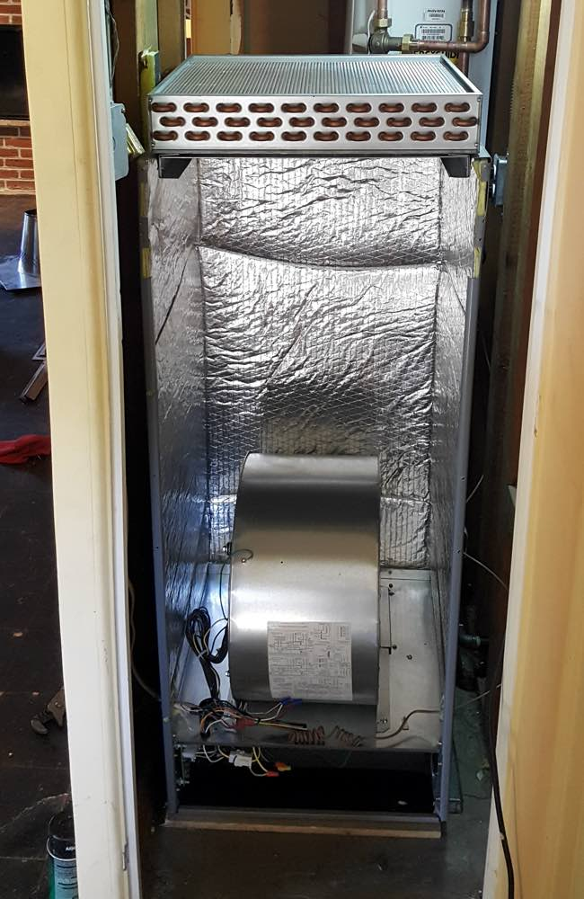 High Efficiency Furnace installed in Denver