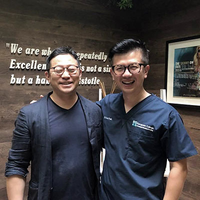 Fruitful meeting and sharing session on injectables with Dr Kim at Amaris B. Clinic.