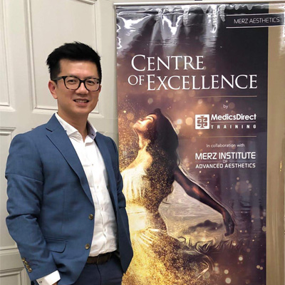 Dr Ivan Puah is the appointed trainer by Allergan and Merz to train fellow doctors in botulinum toxin and Fillers injections.