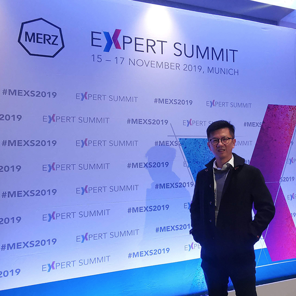 Dr Ivan Puah was invited to the exclusive Expert Summit organised by Merz Aesthetics.