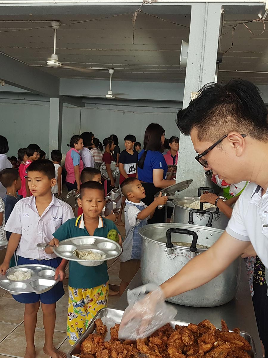 By providing meal sponsorships and improvements to their living conditions, these children get to experience the basic necessities that every human deserves, often taken for granted by many.