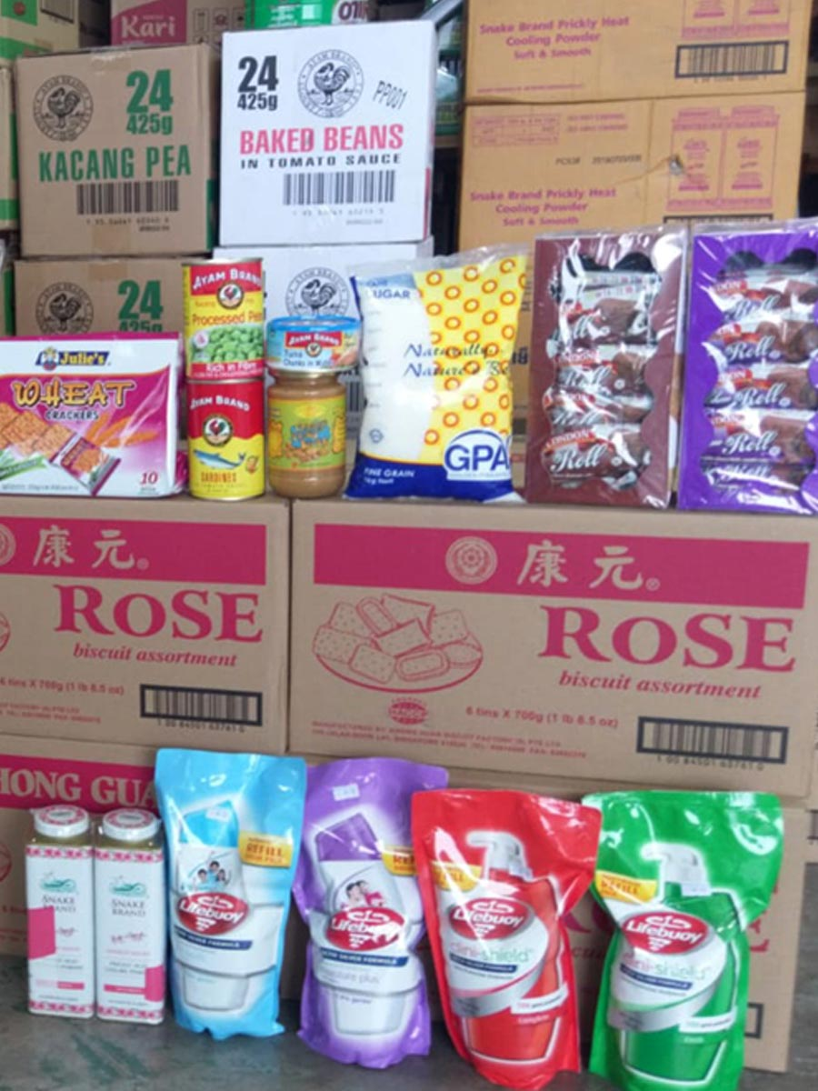 In spite of COVID, we have been reaching out to the local community that requires our help and continues to work with The Kindness Mart and Helping Joy to provide daily necessities and staples to Kwong Wai Shiu Hospital - a community healthcare hub for the elderly, sick and vulnerable.