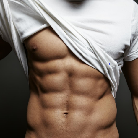 Common Male Body Image Issues - Six Pack Abs (cropped)
