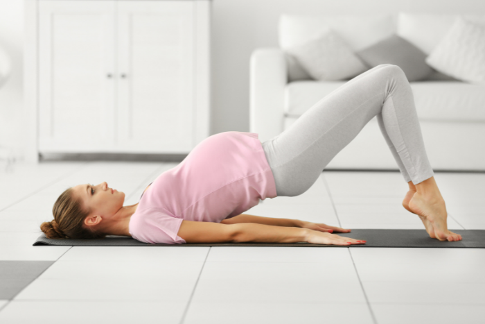 postpartum skin and body myths exercise photo source shutterstock