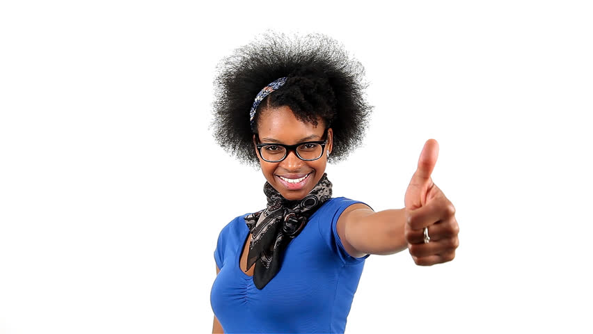 african-american-woman-thumbs-up