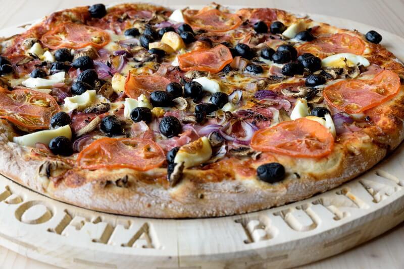 pizza foame de lup