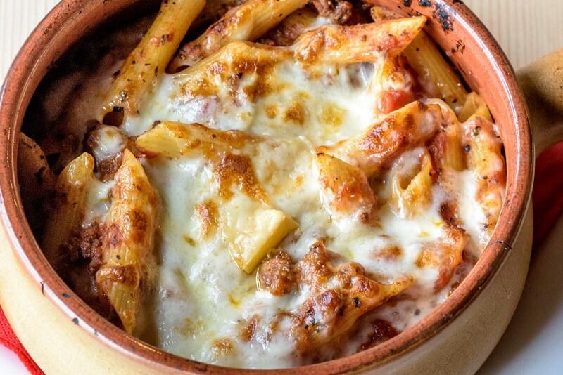 pasta in bran