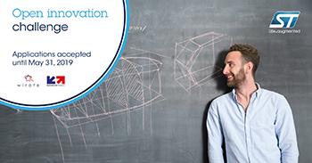STMicroelectronics lance le défi de l'innovation ouverte: Promouvoir la gamme complète d'environnements de développement ouverts STM32 aux start-ups françaises
