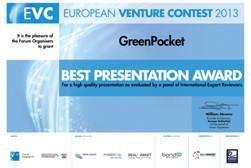 Award - Euopean Venture Contest