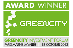 Award - Greencity Investment Forums