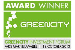 GreenPocket GreenCity Award Winner