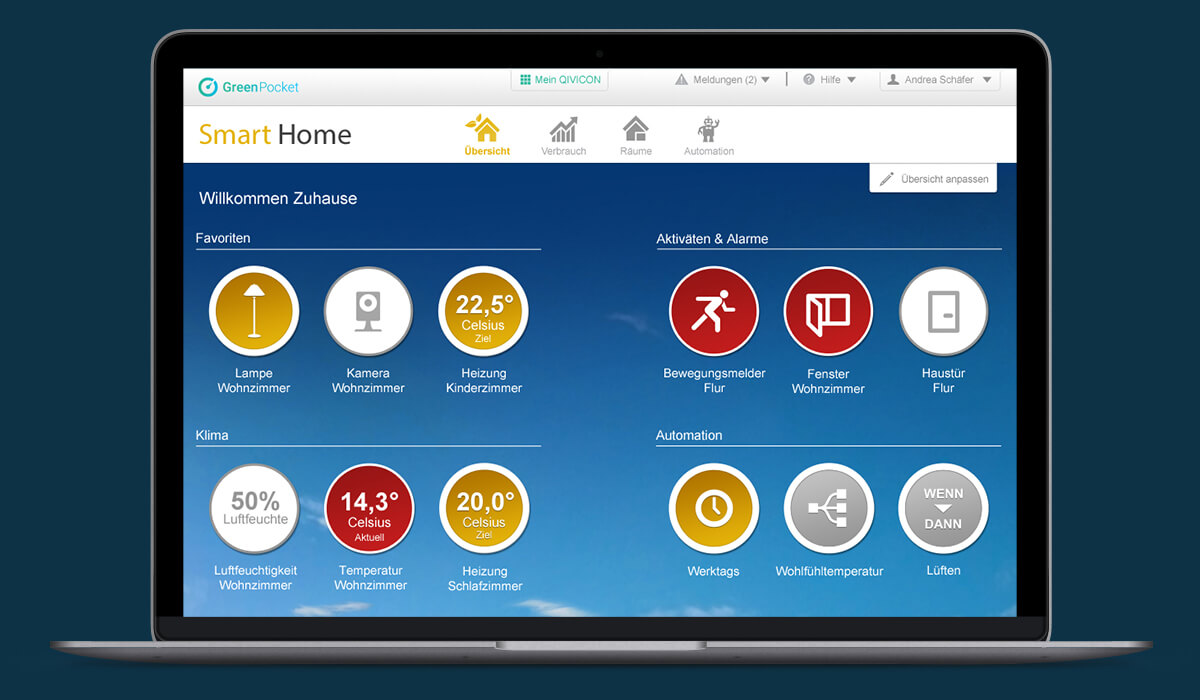 Smart Home - Dashboard