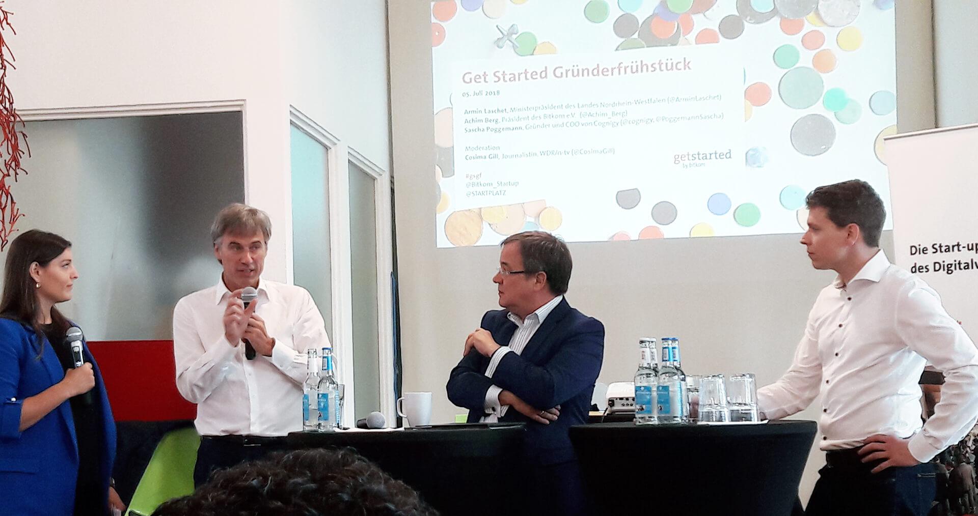 Gründerfrühstück mit Ministerpräsident Armin Laschet