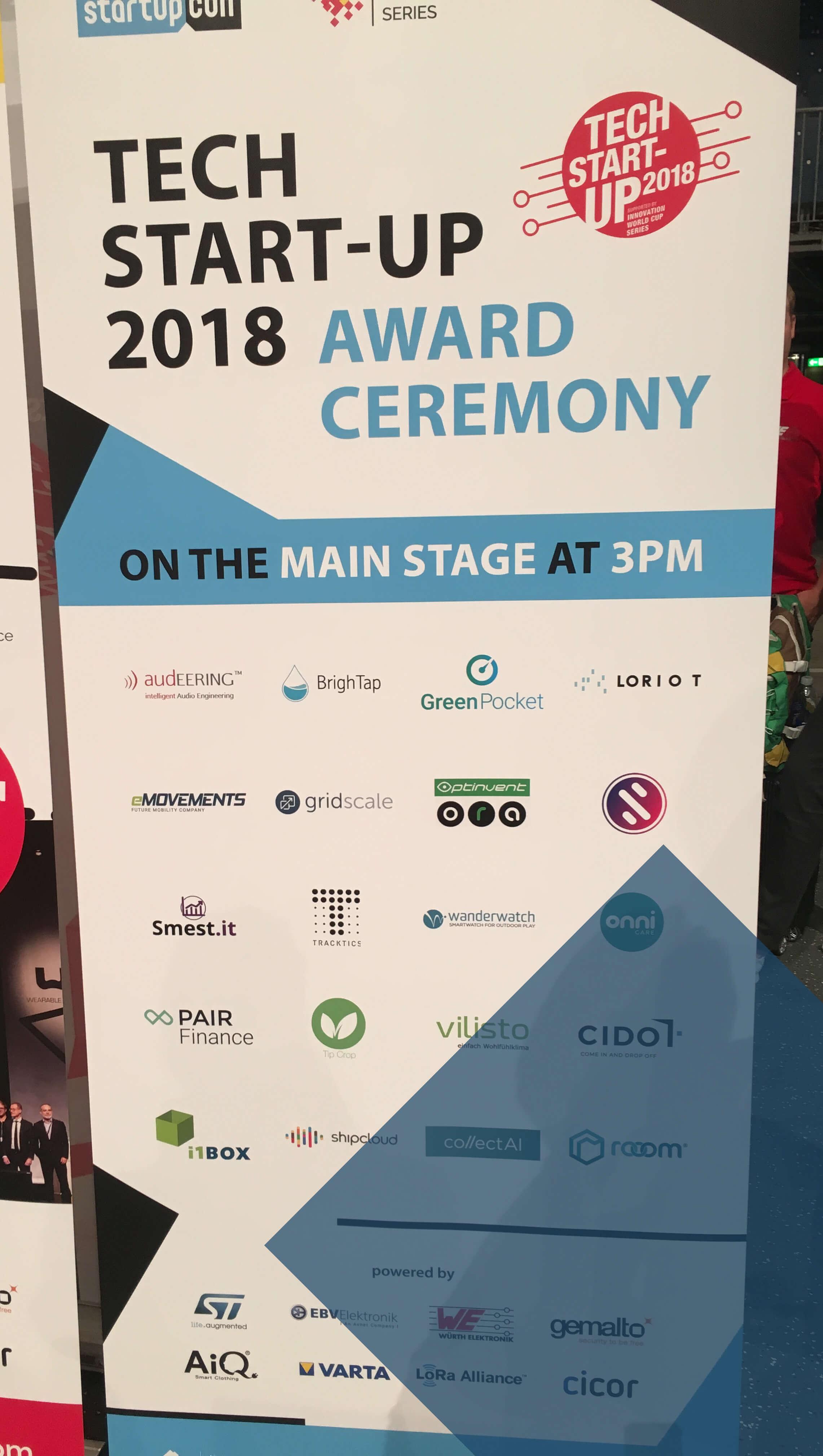 TECH START-UP 2018 AWARD Finalists