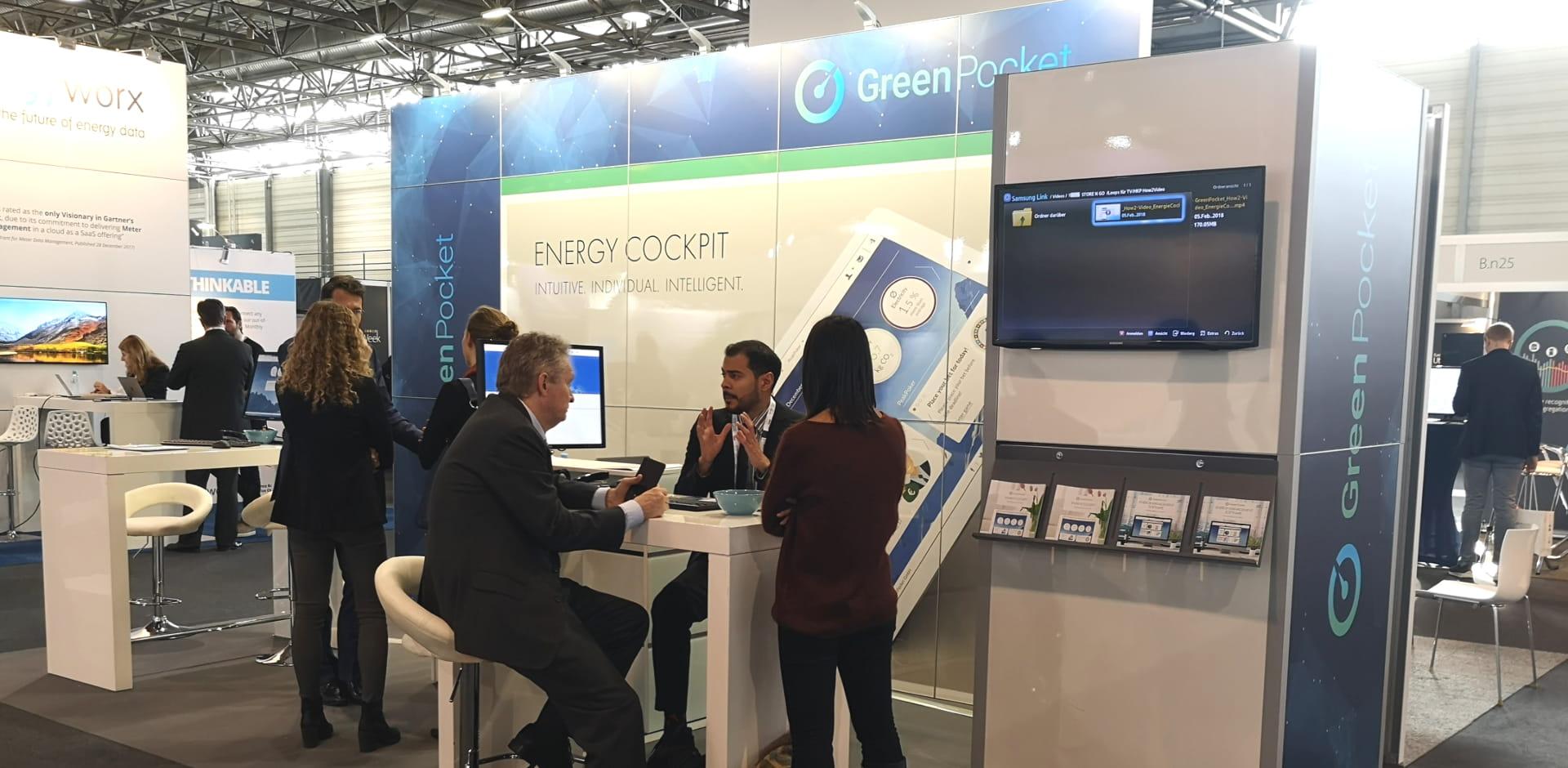 GreenPocket in Wien: European Utility Week 2018 und PEAKapp-Abschlussbericht