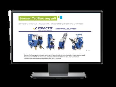 Suomen teollisuusmyynti-verkkosivut