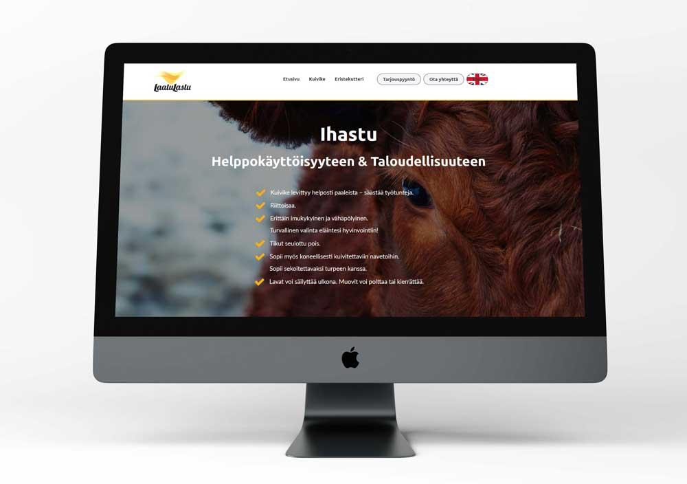 Laatulastu Oy verkkosivusto