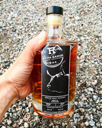 Ratia Ranch viskietiketti