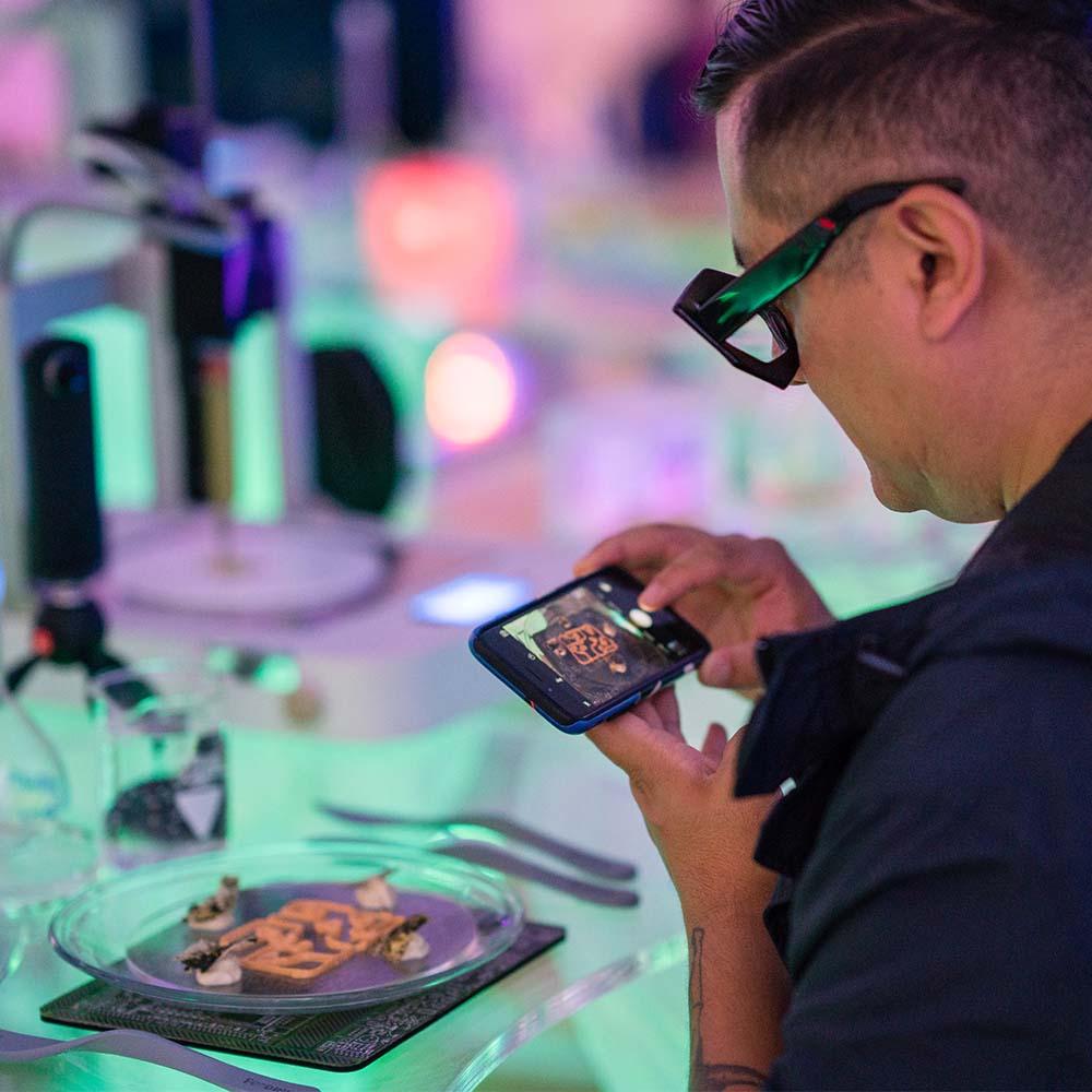 3D printed dinner / restaurant