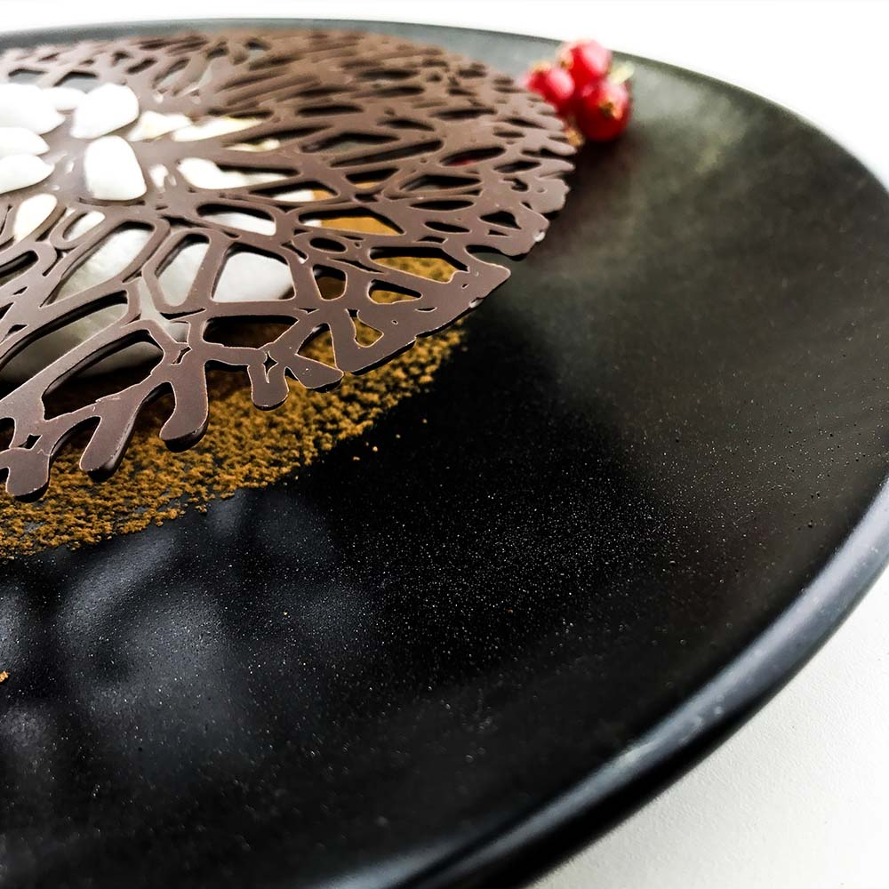 3D printed Chocolate dessert