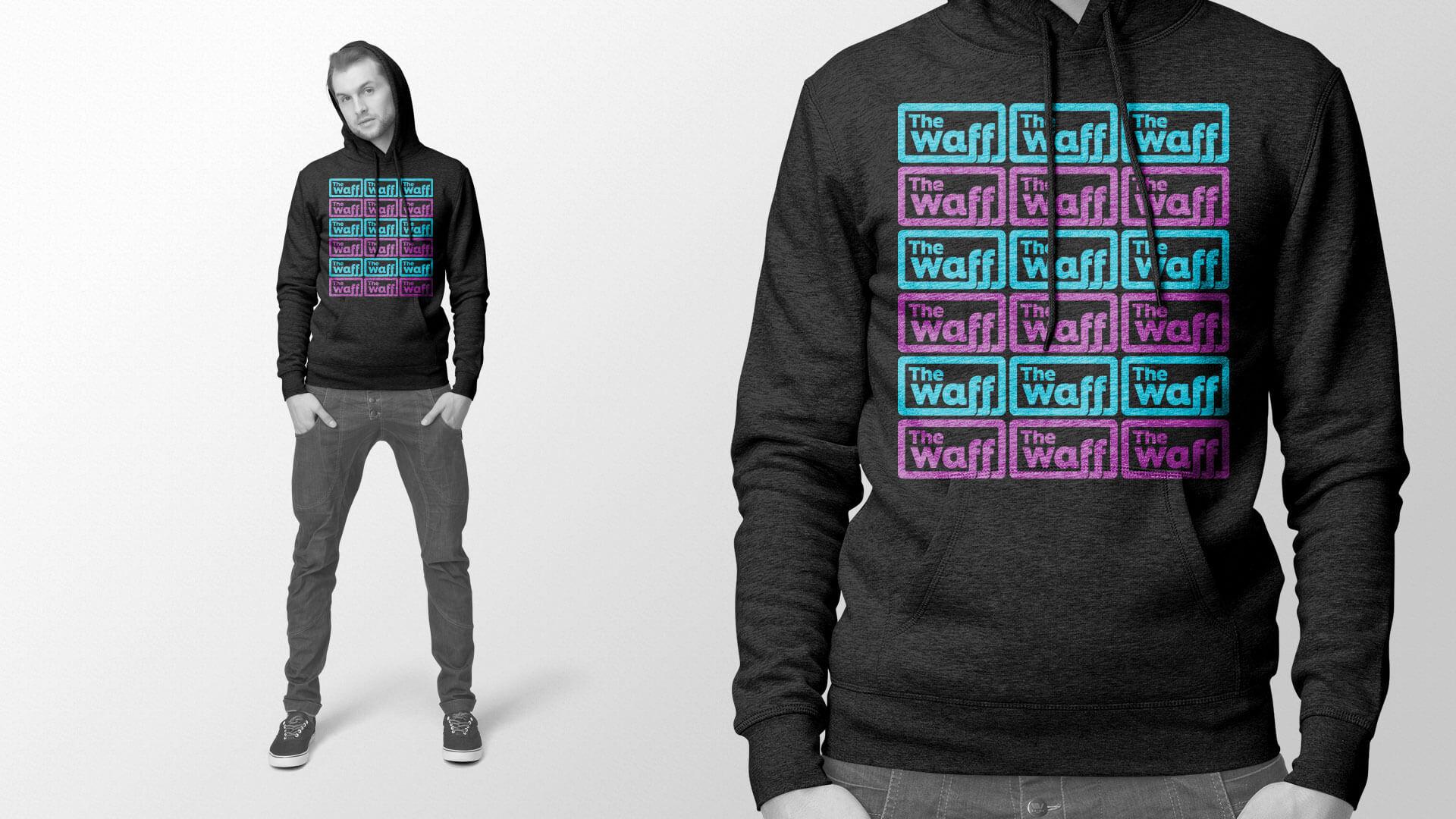 A hoodie design for the Winnipeg Aboriginal Film Festival.