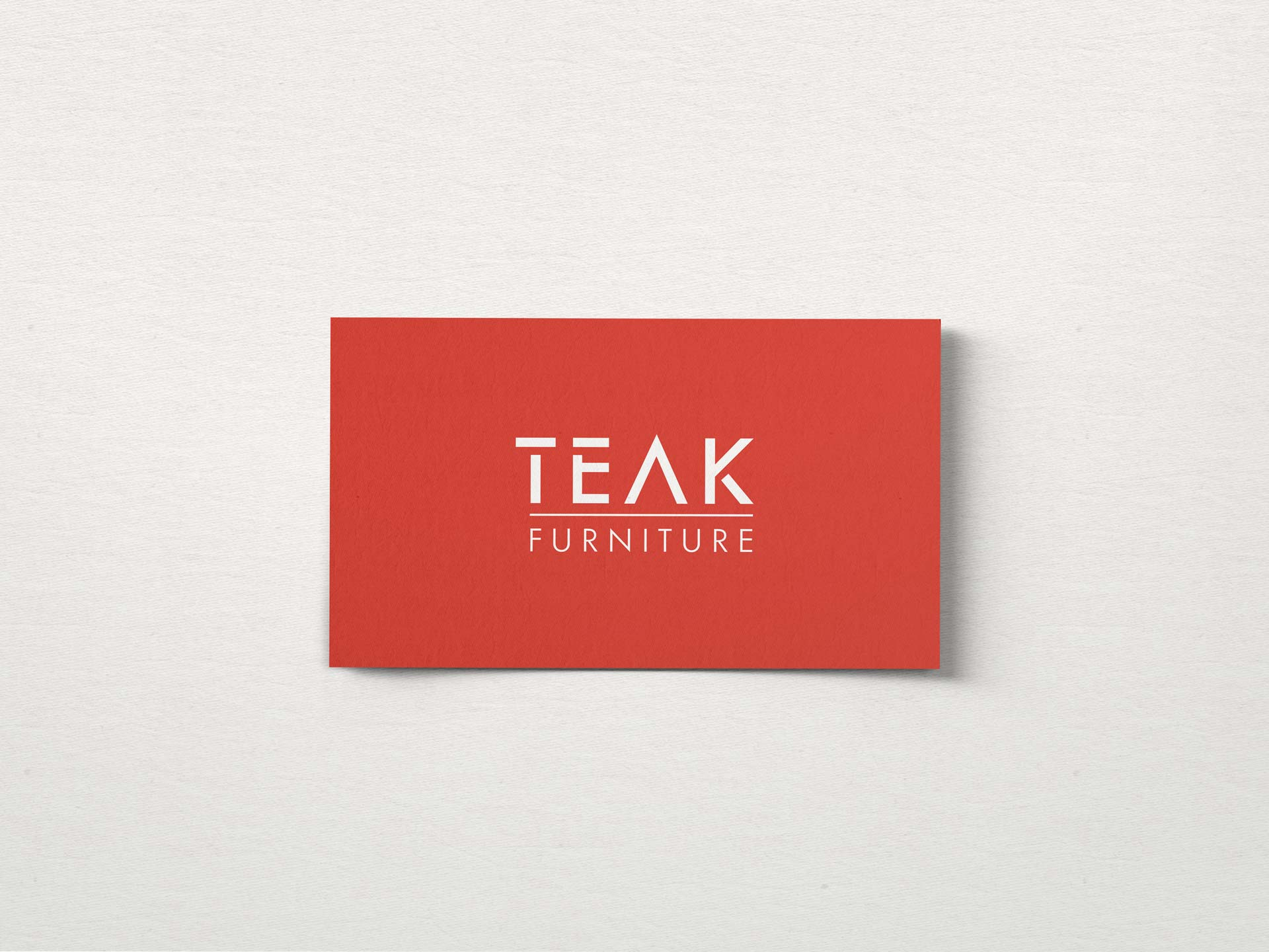 Teak Furniture logo