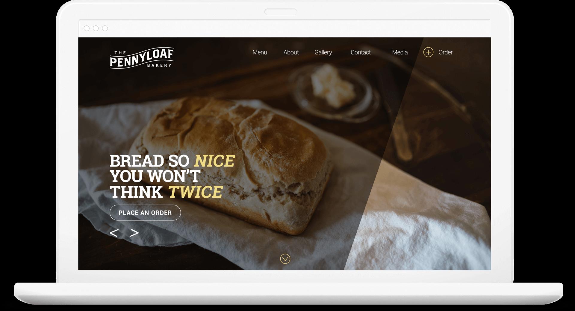 Pennyloaf website redesign