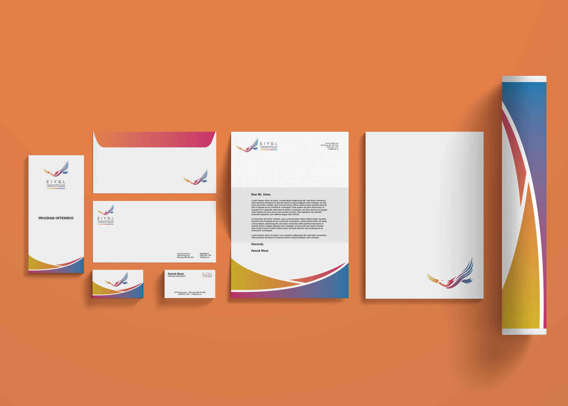 EIYGL stationery package
