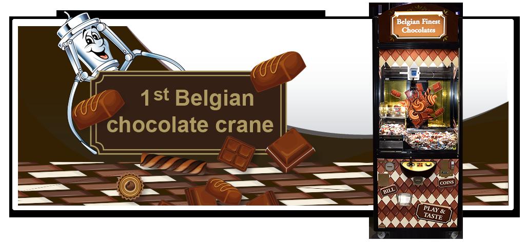 BelgianFinest ChocolateCrane