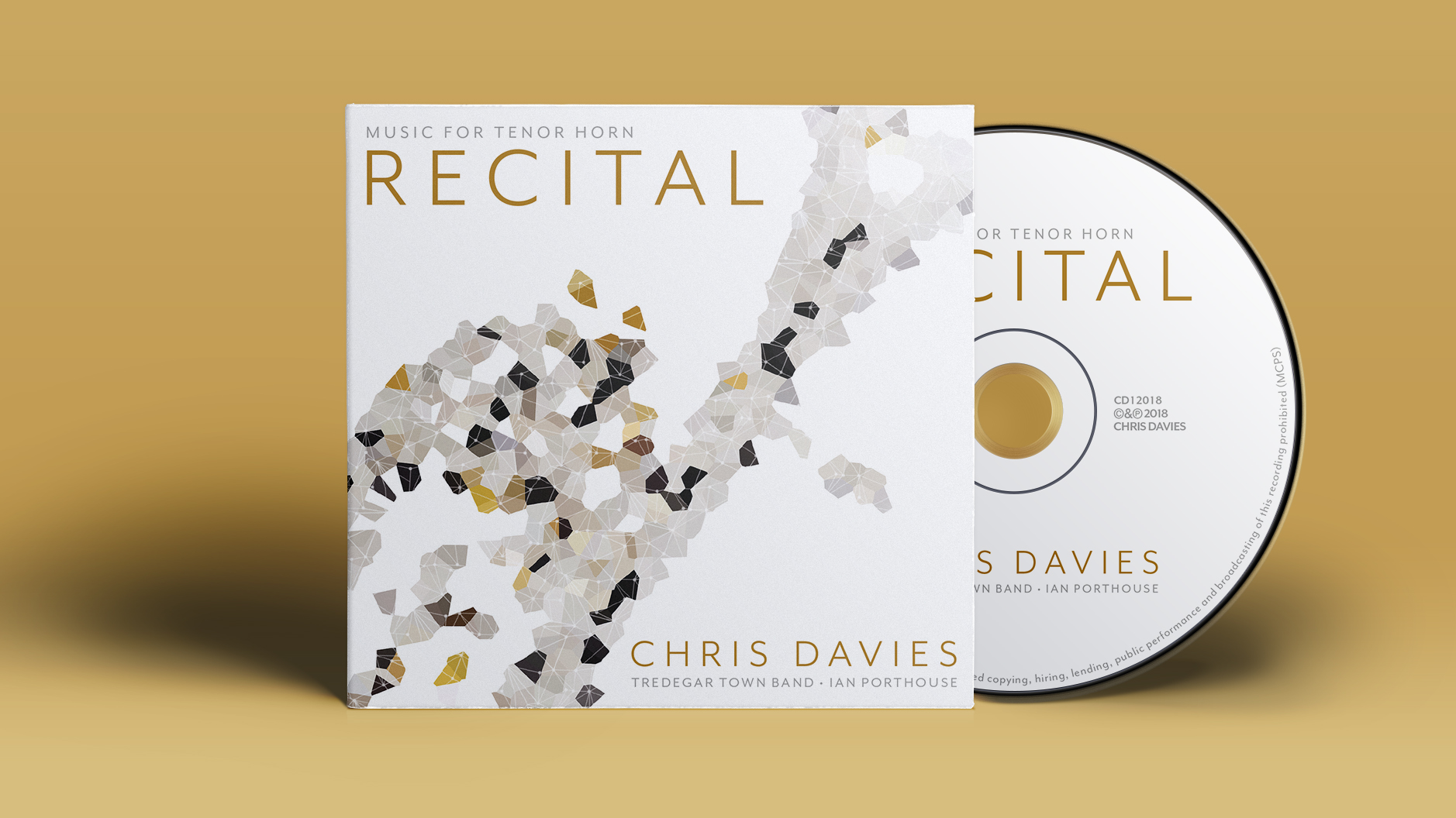 Davies to debut new horn recordings