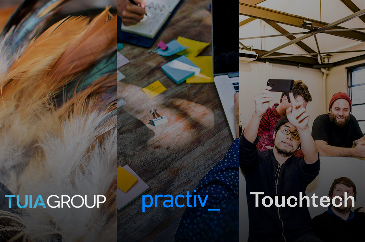 Chatbot Integration Partners - Tuia Group, Practiv, and Touchtech