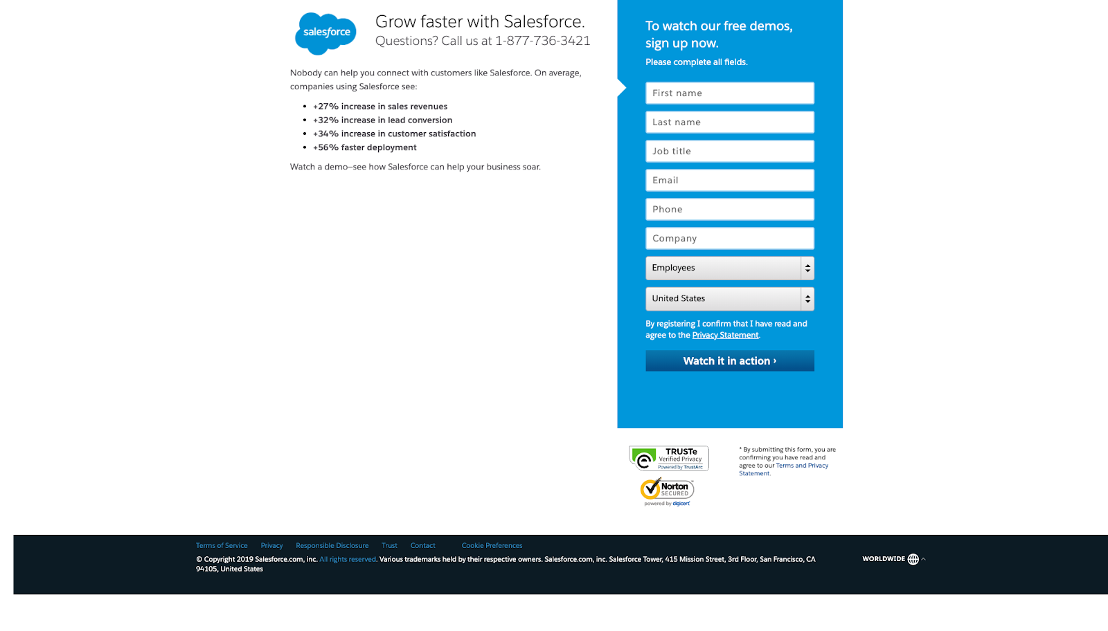 Salesforce personalization strategy