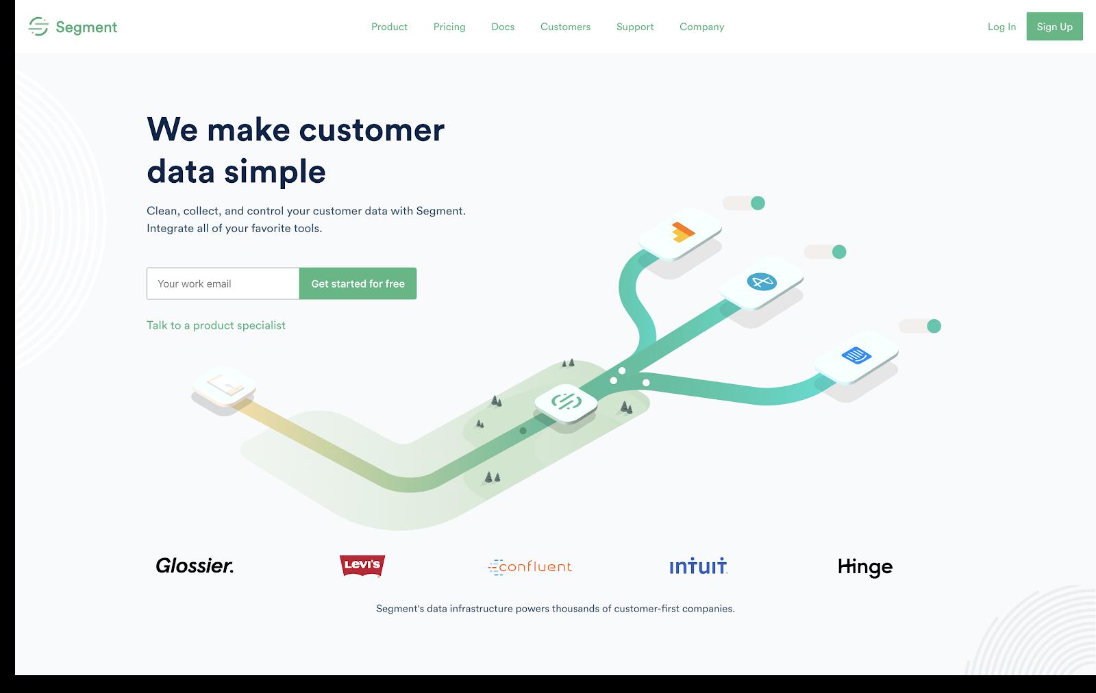 Segment personalization strategy