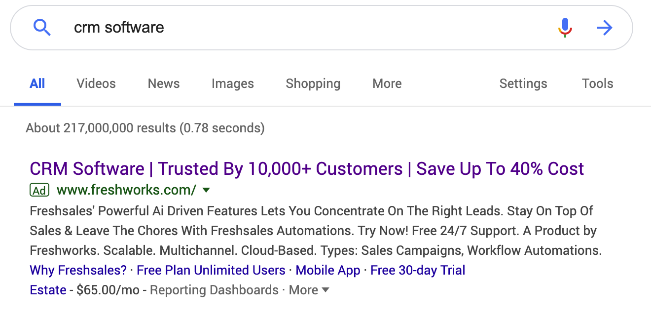 personalization examples adwords