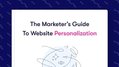 Personalization Guide Cover