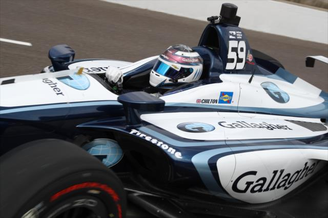 Max Chilton Carlin Gallagher Indycar Livery