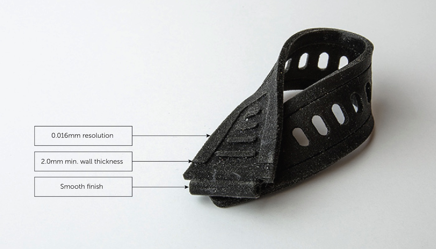 rubber-like 3d printing material