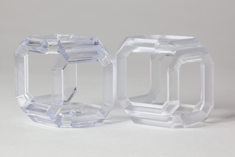 accura clearvue clearcoat sla 3d printing material