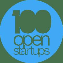 Logo 100 open
