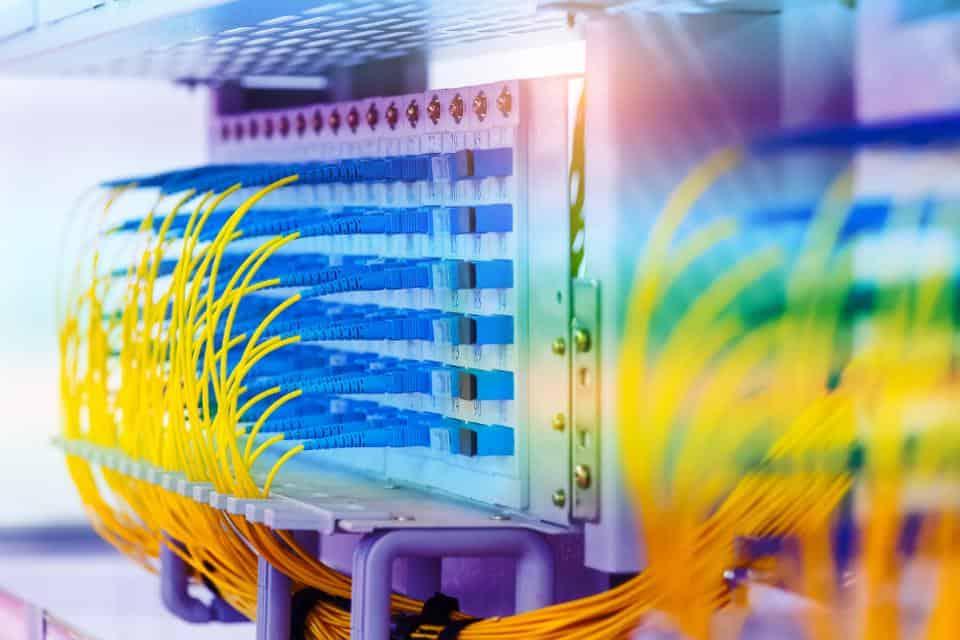 Instalação de infra-estrutura de rede
