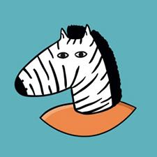Žirafa jako maskot firmy Zonky. Ta nabízí půjčku s úrokem od 2,99 % ročně, předčasné splacení zdarma i férové podmínky.