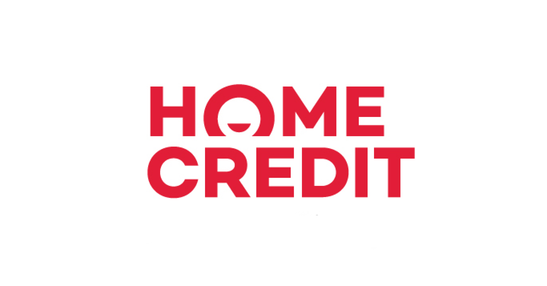 Logo české společnosti Home Credit, která na českém trhu poskytuje nebankovní půjčky. Úrok začíná na 9,88 % ročně.
