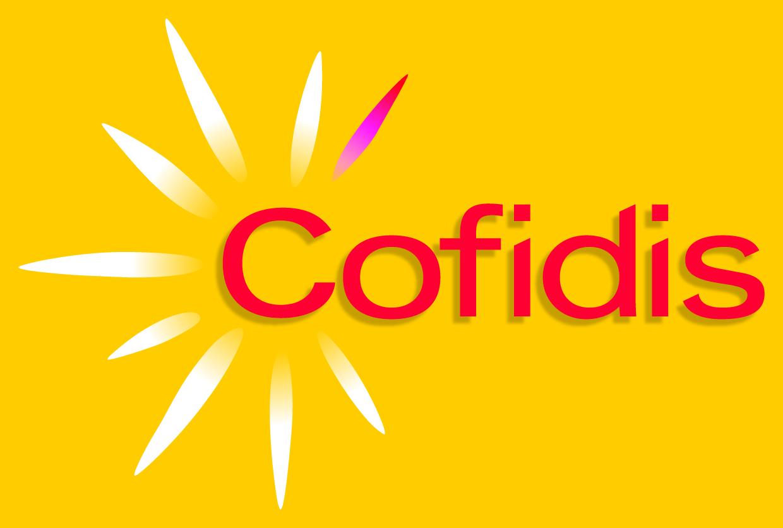 Logo firmy Cofidis, která vznikla ve Francii, a své úvěry poskytuje také v Čechách. Patří mezi nejlevnější poskytovatele.