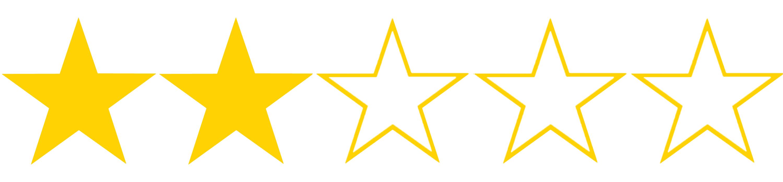 2 hvězdičky z 5, kterými jsme ohodnotili výši úroku a RPSN půjčky od Home Creditu. Úrok začíná na 9,88 % ročně.