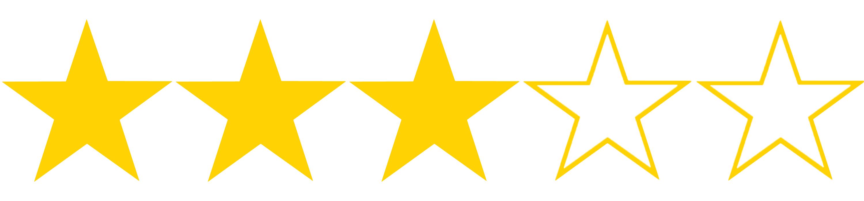 3 hvězdičky z 5, kterými jsme ohodnotili poplatky u půjčky od České spořitelny. Poplatků má půjčka bohužel hned několik.