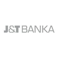 Logo J&T banky. Její spořicí účet nabízí úrok 0,9 % ročně.
