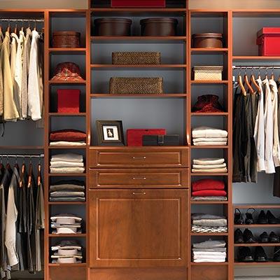 Master Closet Unit